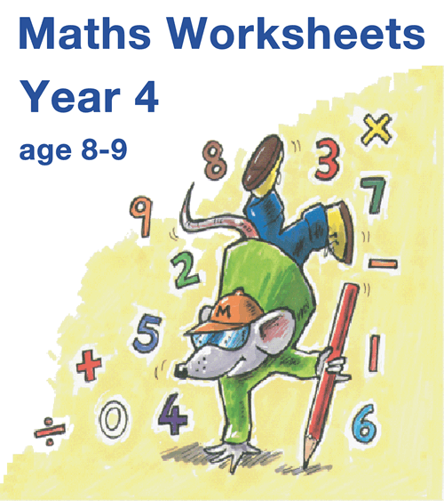 Mathsphere Year 4 Maths Worksheets