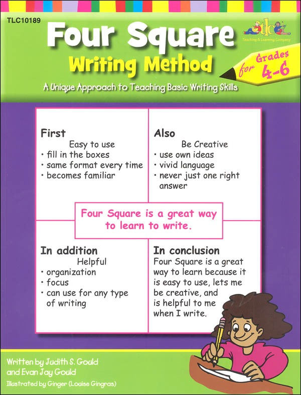 Four Square Writing Method Grades 4
