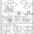 Thanksgiving Worksheets For Toddlers