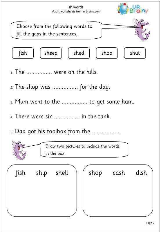 Printables  Grade 1 English Worksheets  Mywcct Thousands Of
