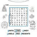 Christmas Worksheets Esl