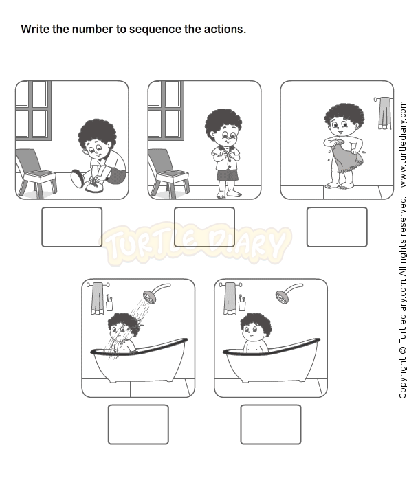 Picture Sequence Worksheet 10