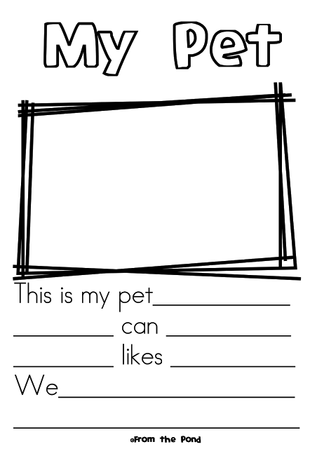 Free Pet Worksheet