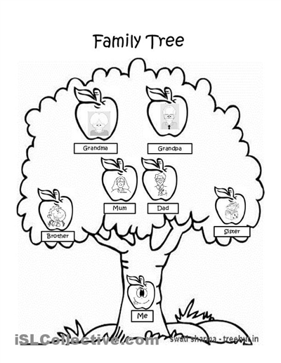 37 Awesome Family Tree Worksheet Images