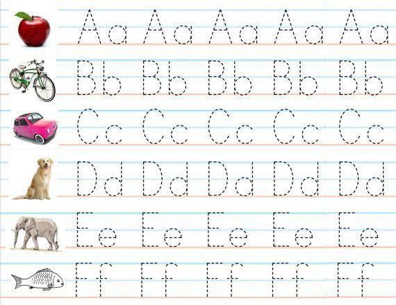 Free Printable Alphabet Practice Worksheets  3