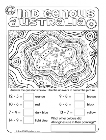 Image Result For Indigenous Australia Math
