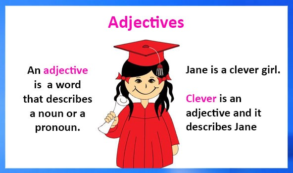 Adjectives – Definition, Types, Examples And Worksheets