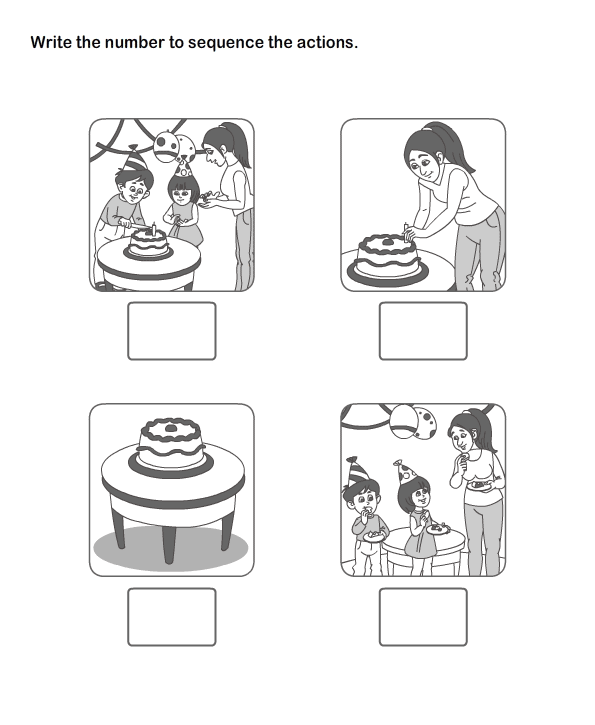 Picture Sequence Worksheet 11