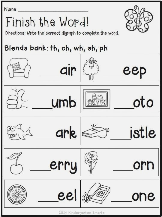 English Worksheets For Primary 1 – Dailypoll Co