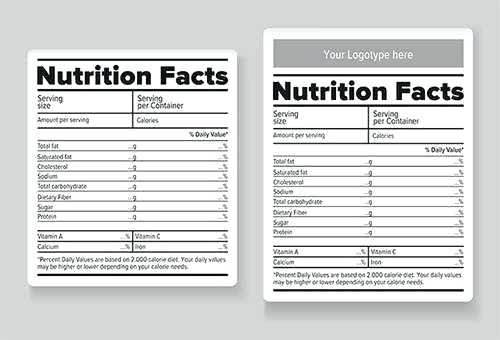 Blank Food Label Free Blank Food Label Lesson Sheets You Can