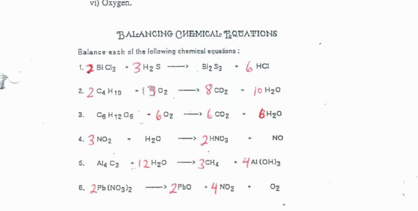 Chemistry A Study Of Matter Worksheet 3 Laws Of Motion Worksheets