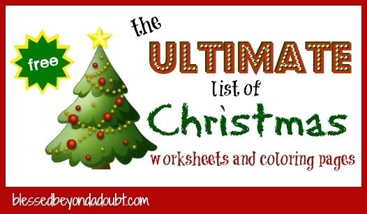 Christmas Themed Math Worksheets 5th Grade Free Coloring Pages For