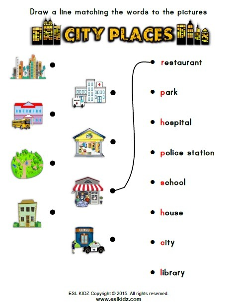 Social And Natural Sciences For First Grade 2016 17  Places In The