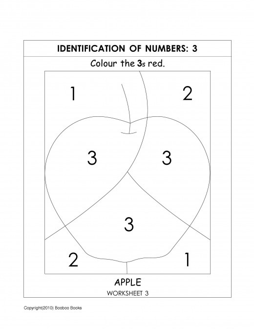 Best Photos Of Number 3 And 4 Worksheets