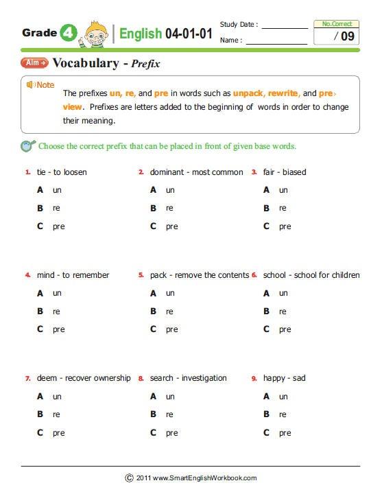 Smartenglishworkbook  Be Smart, Study Smart