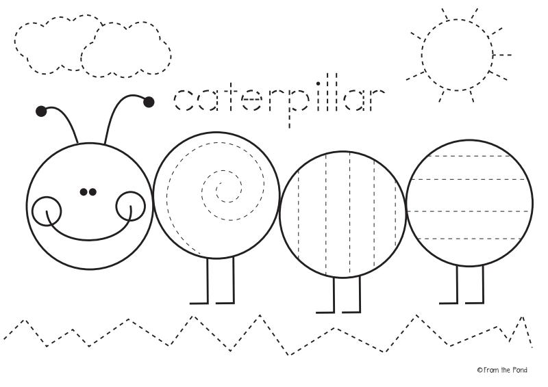 Freebie Caterpillar Worksheet Pdf