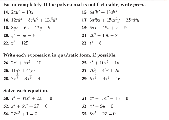 15+factoring Trinomials Practice Worksheet