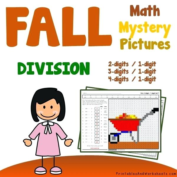 Fall Autumn Division Coloring Worksheets Worksheets Fall Autumn
