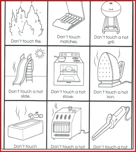Fire Safety Lesson Plans For Preschoolers Project Drill Worksheets