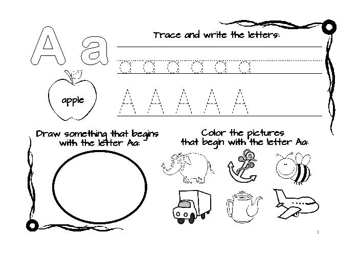 Free Abc Worksheets