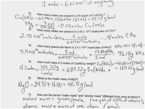 Grams Moles Calculations Worksheet Beautiful Density Calculations