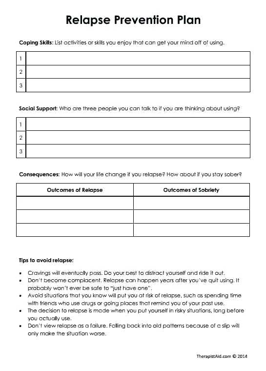Self Harm Worksheets Activities Honesty Net For Adults – Malamas Info