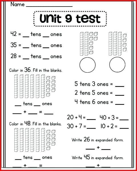 Hundreds Tens Ones Worksheets 2nd Grade – Newstalk Info