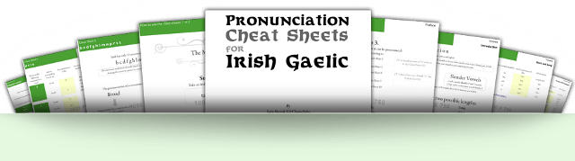 Worksheets Launched For Pronouncing Irish Gaelic