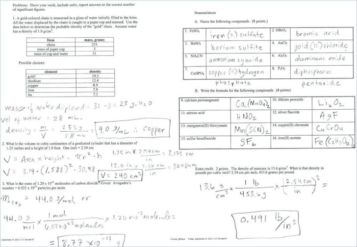 Isotope Notation Worksheet