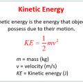 Calculating Kinetic Energy Worksheets