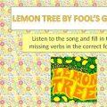 Lemon Tree Worksheets