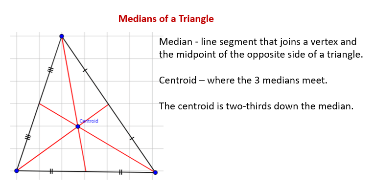 Construct The Median Of A Triangle (solutions, Examples