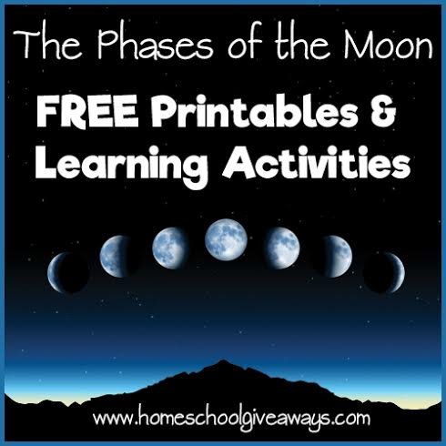 The Phases Of The Moon Free Printables And Learning Activities