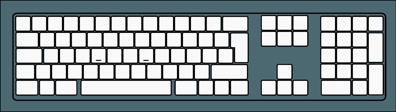 Printable Computer Keyboard Worksheet