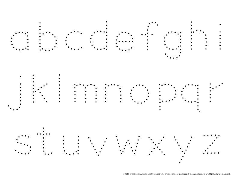 Printable Worksheet For Preschool Alphabets Worksheets
