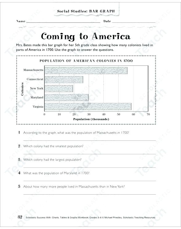 Line Graph Worksheets 6th Grade