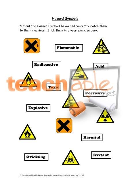 15+ Lab Safety Symbols Worksheet