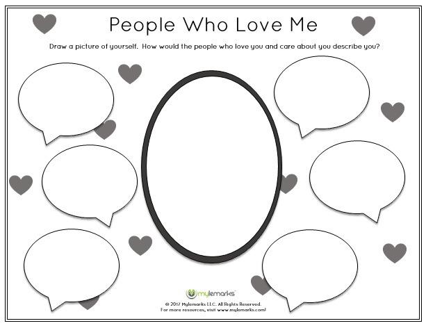 Self Esteem Worksheets For Kids Self Esteem Worksheets