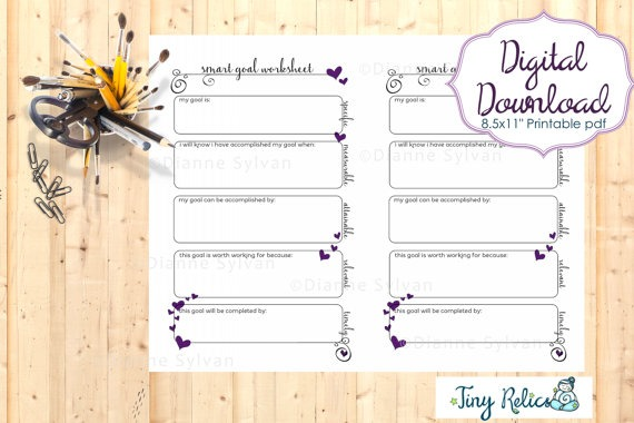 12 Goal Setting Worksheet Template Ideas