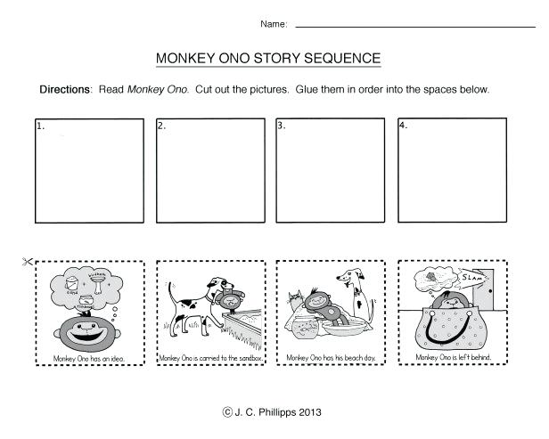 Story Sequencing Worksheets For Kindergarten Picture Story
