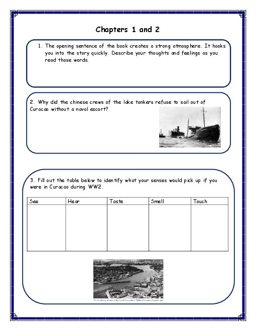 The Cay A Printable Workbook