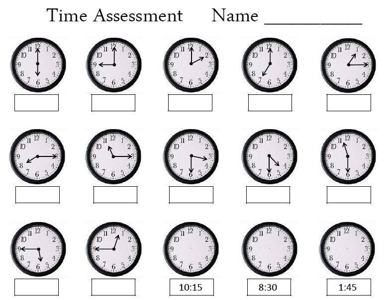 Empowered By Them  Time Assessment