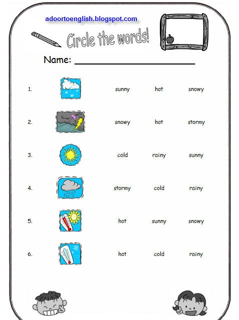 Weather Worksheet  New 872 Weather Instruments Worksheets Pdf