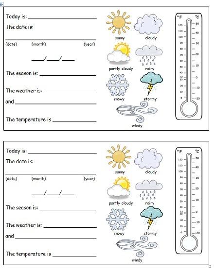 Weather Worksheet Kindergarten Awesome Second Grade Weather