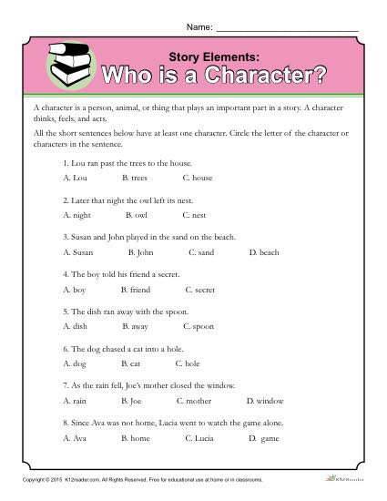 Who Is A Character