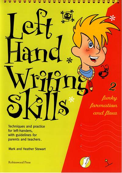 Left Handed Writing Book 2