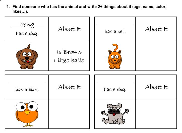 635 Free Animals Worksheets