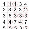 Number Identification Worksheets
