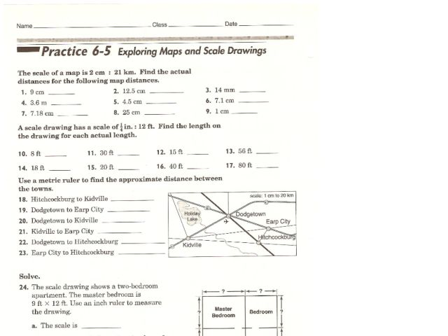 28 Collection Of Scale Drawing Worksheets For Middle School