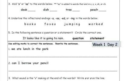 3rd Grade Language Worksheets 8th Grade Language Arts Worksheets